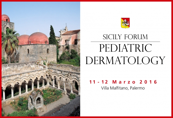 SICILY FORUM - PEDIATRIC DERMATOLOGY