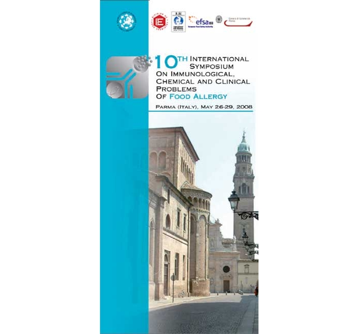 10 TH INTERNATIONAL SYMPOSIUM ON IMMUNOLOGICAL, CHEMICAL AND CLINICAL PROBLEMs OF FOOD ALLERGY