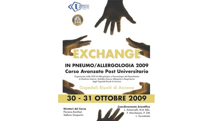 EXCHANGE IN PNEUMO/ALLERGOLOGIA 2009- Corso Avanzato Post Universitario