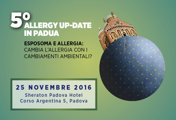 5° ALLERGY UP-DATE IN PADUA