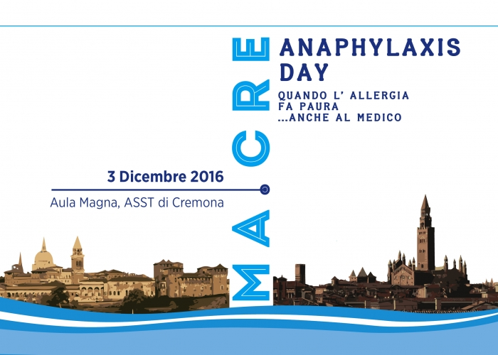 MA.CRE - ANAPHYLAXIS DAY
