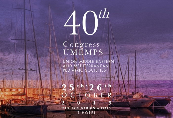 40th Congress UMEMPS UNION MIDDLE EASTERN AND MEDITERRANEAN PEDIATRIC SOCIETIES