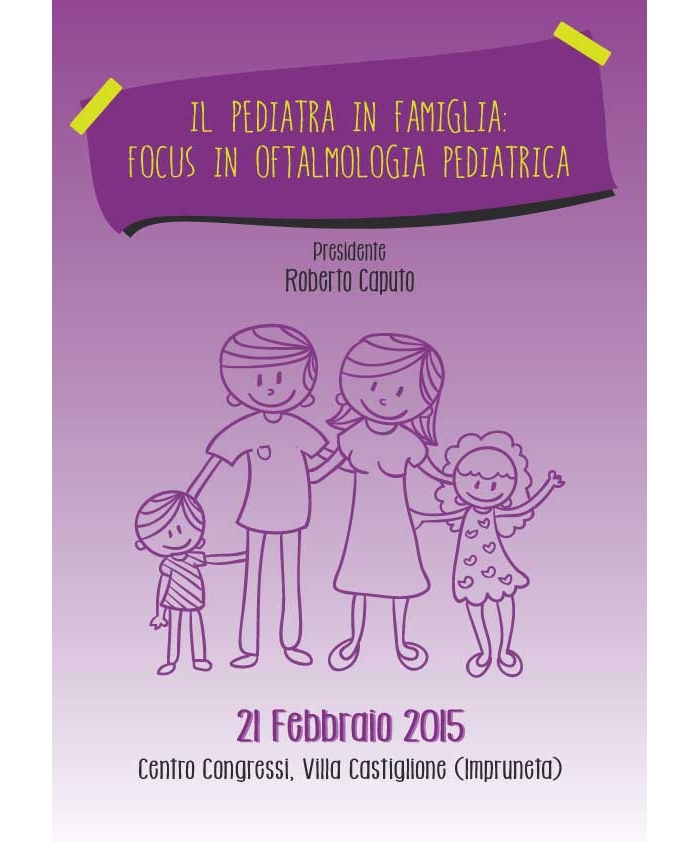 IL PEDIATRA IN FAMIGLIA - FOCUS IN OFTALMOLOGIA PEDIATRICA