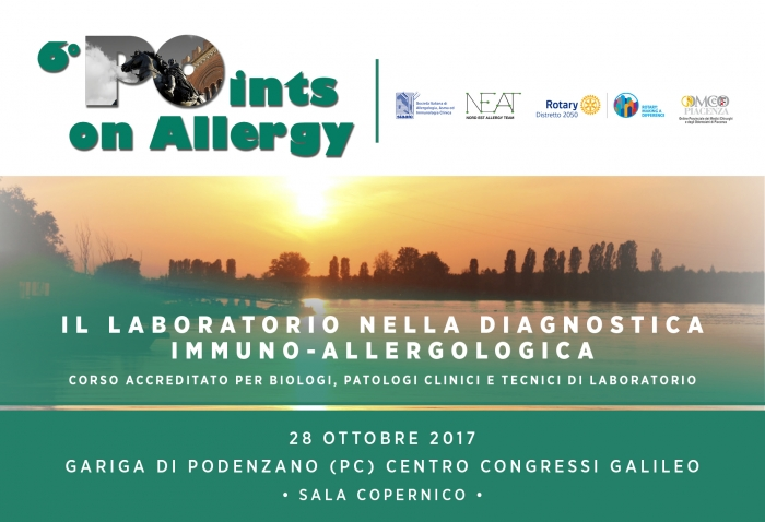 6° POINTS ON ALLERGY - CORSO PARALLELO