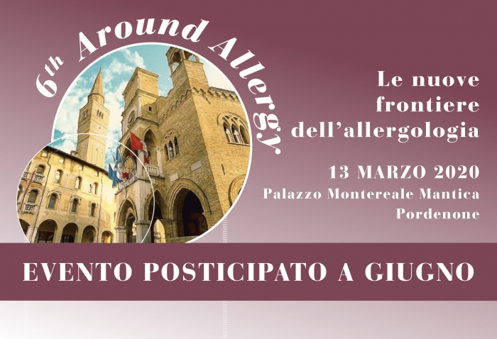 6th Around Allergy - Le nuove  frontiere  dell allergologia - EVENTO POSTICIPATO